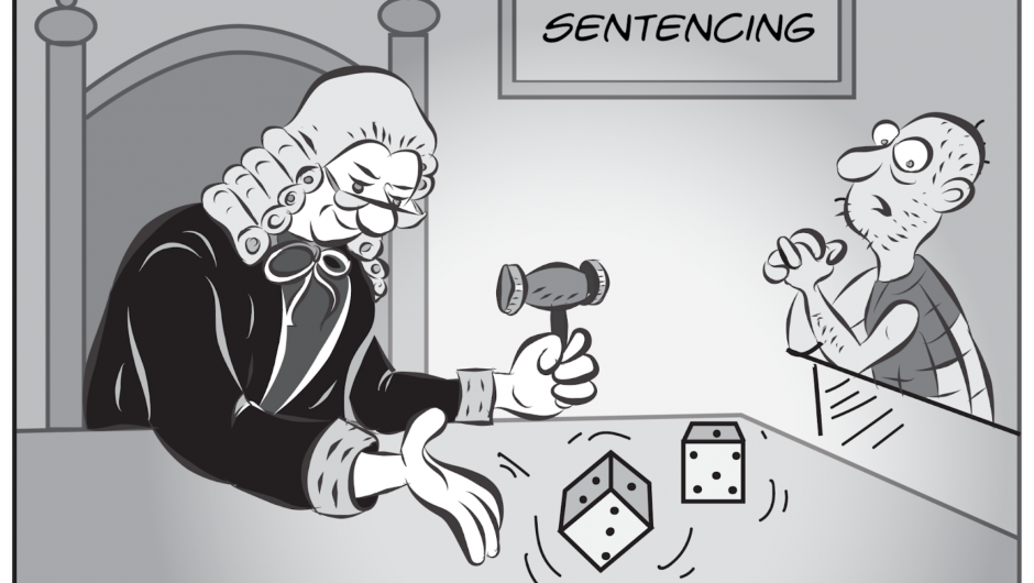 Judges should not play with dice